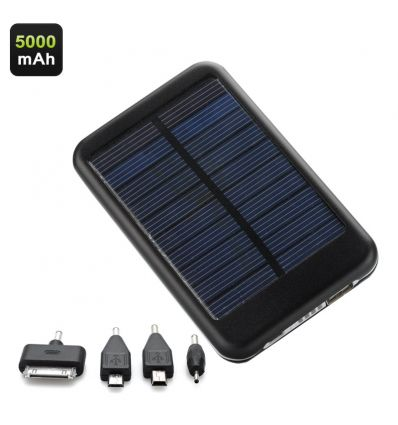 5000mAh Solar Powerd Charger