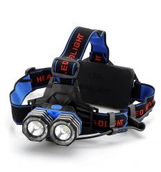 CREE XM-L 2x T6 LED Headlamp