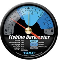 Trac T3002 Fishing Barometer (Flush Mount)