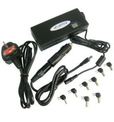 3 in 1 Universal AC+DC Adapter for Laptop and LCD Monitor, 90W