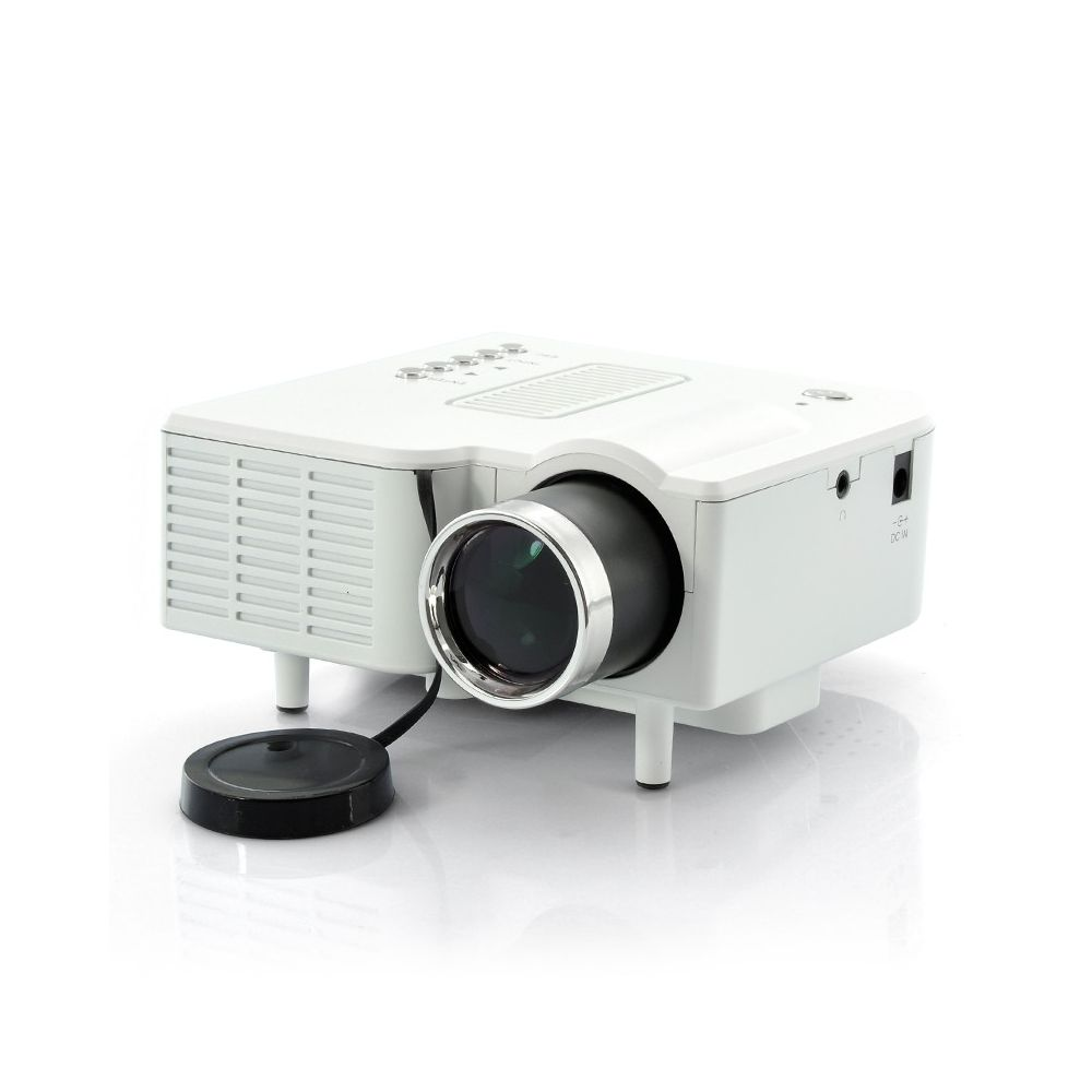 Mini led video projector portimax hdmi 320x240 300 1 for Hdmi pocket projector