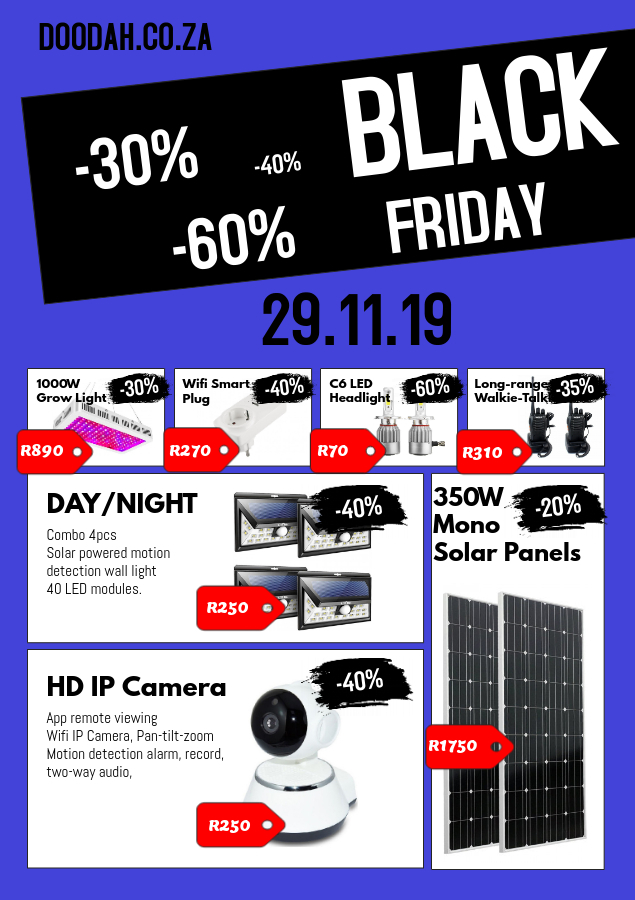 Black Friday Deals 2019 Sale On Tech Electronics South Africa
