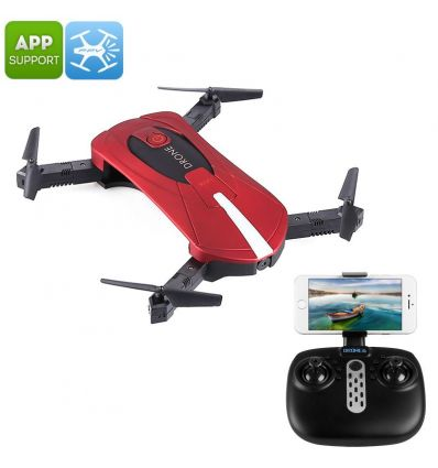 JY018 Folding Drone (Red) IM-AIA-G853-Red Electronics