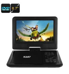 8.7 Inch Portable DVD Player
