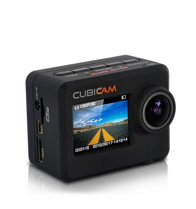 Full HD Sports Camera w/ Body Strap - Cubicam IM-SA-I254
