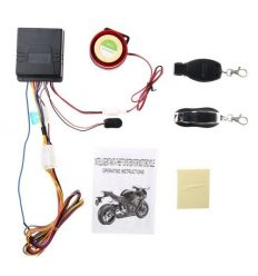 Motorcycle Anti-theft Remote Control Start Alarm System