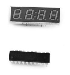 WH - 0001 DIY Digital Watch Kit 4-digit 7-segment Display / Singlechip with Nylon Loop Band
