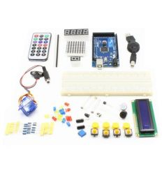 TB - 00017 Mega 2560 R3 Development Board Basic Starter Kit - Mixed Colours