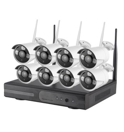 8 Channel WiFi NVR CCTV Camera Kit IM-AIA-I633 CCTV Cameras