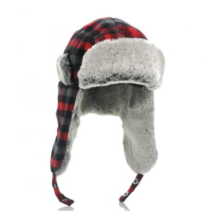 Trapper Hat with Built-in Earphones IM-PT-E346 TV, Audio &
