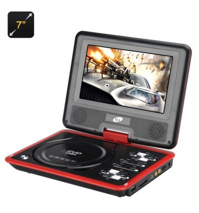 7 Inch Portable DVD Player with Game Function IM-ACC-E489 TV