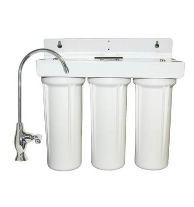 Water Purifier 3 Stage Under Counter Drinking Water Filtration
