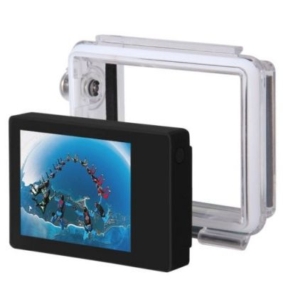 Display For GoPro Camera + Waterproof Housing IM-ADI-A474