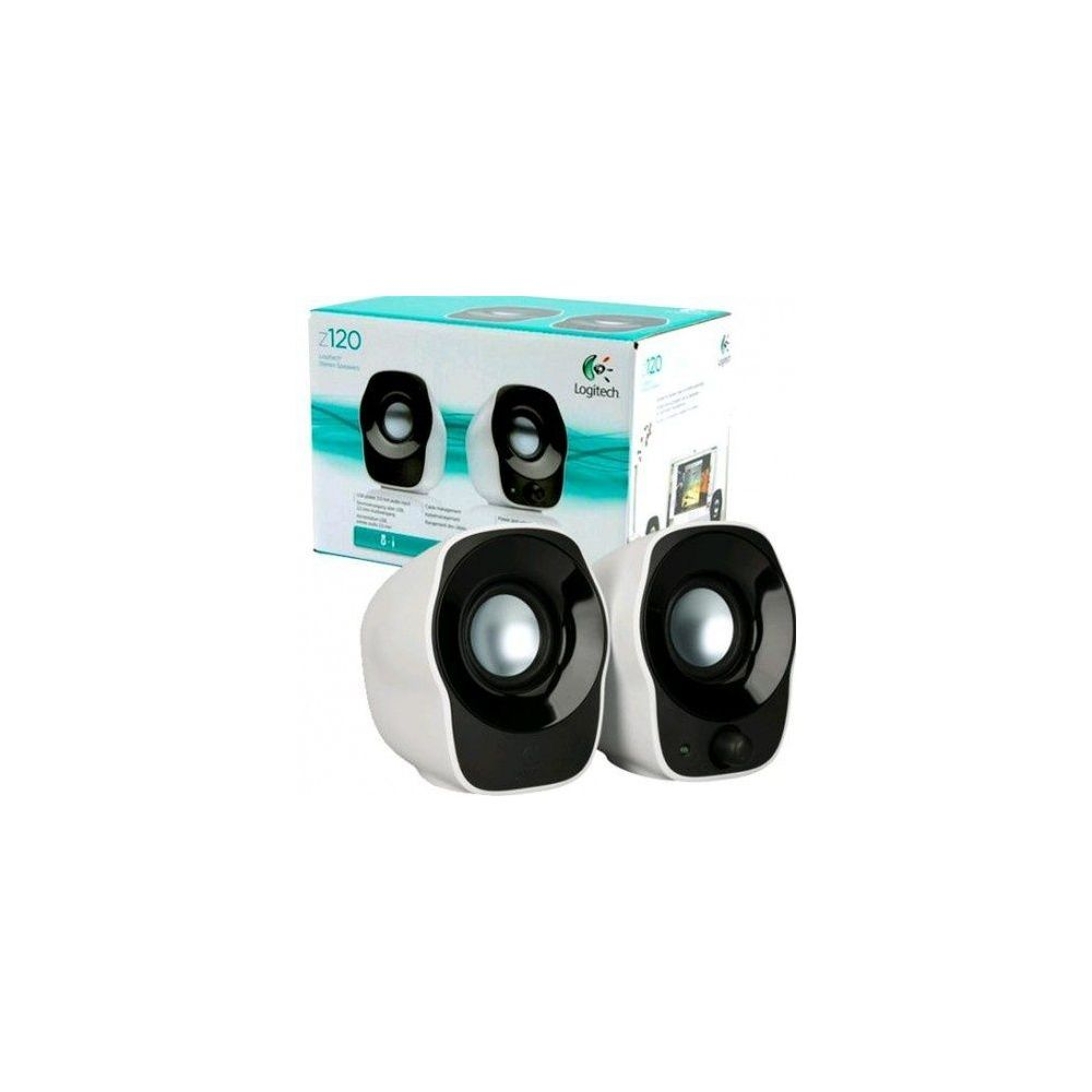 08a701354a2 Logitech Z120 2.0 Stereo Speakers 980-000513 Computers &