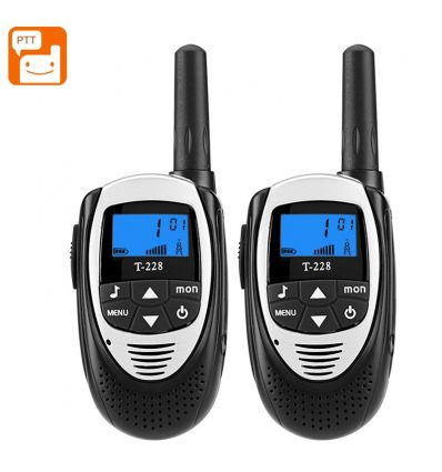 T-228 Walkie Talkies (Black) Security Home & Office Product
