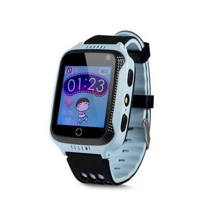 Kids GPS Tracker Watch Phone - Blue