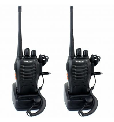 Baofeng Handheld Two-Way Radio Long-Range Walkie Talkie Set