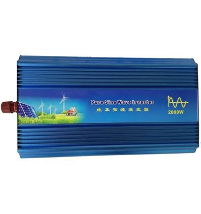 Pure Sine Wave Power Inverter - 12V / 24V DC to 220V AC