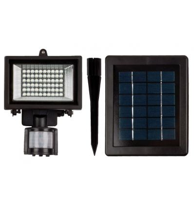 60 LED Solar Motion Sensor Security Light with PIR