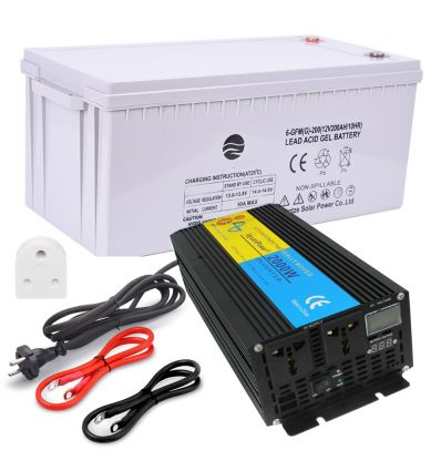 Backup Battery & Inverter System for Home