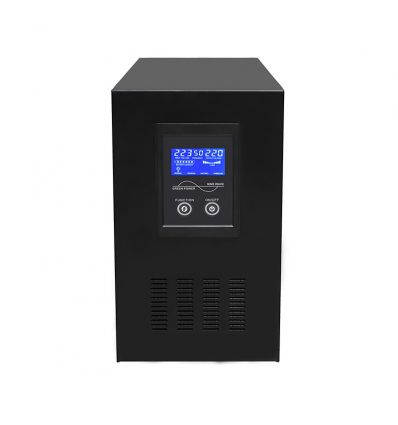 2000W Pure Sine Wave Solar Inverter Hybrid UPS & 12V Battery Charger