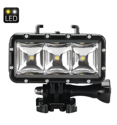 30M Waterproof LED Light For Action Camera IM-ADI-LT287 Sports