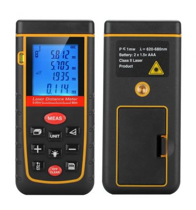 Hand Held IP54 Laser Distance Measurer IM-ACZ-G722 Electronics