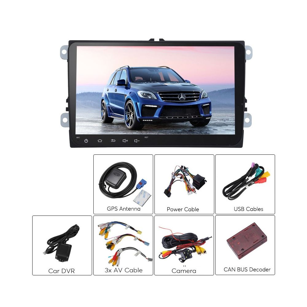 2 din car stereo mercedes benz ml android 6 0 octa core for Mercedes benz car stereo