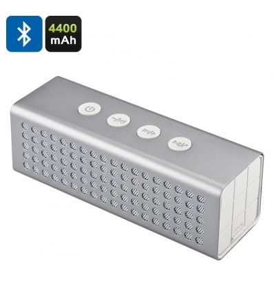 20W Bluetooth Speaker + Power Bank (Silver) IM-AFZ-B66-Silver
