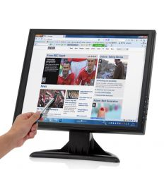 17 Inch High Res Touch Screen LCD Monitor