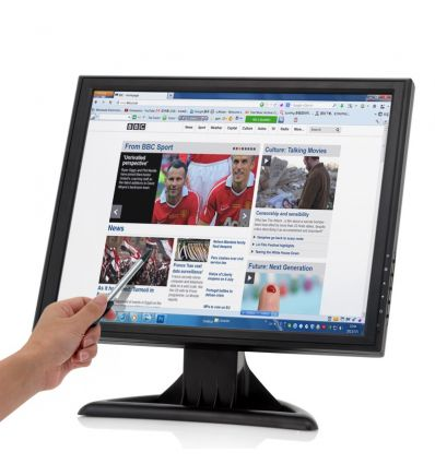 17 Inch High Res Touch Screen LCD Monitor IM-VG-E279 TV, Audio