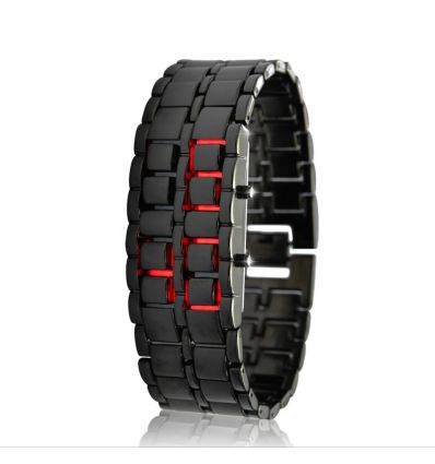 Red LED Watch - Iron Samurai IM-IZ-G165 Wearable Devices
