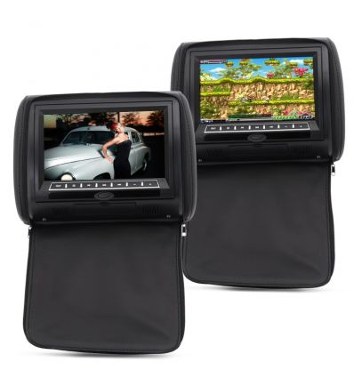 9 Inch Car Headrest Monitor with DVD Player ( IM-ACX-C379 DIY &