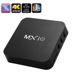 MX10 Android TV Box 4+32GB