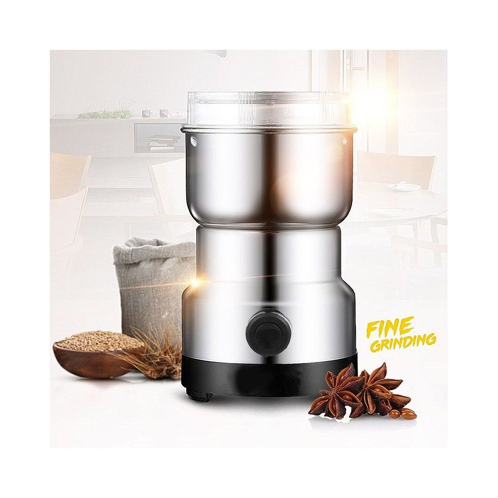 coffee bean grinder stainless steel blades easy to use. Black Bedroom Furniture Sets. Home Design Ideas