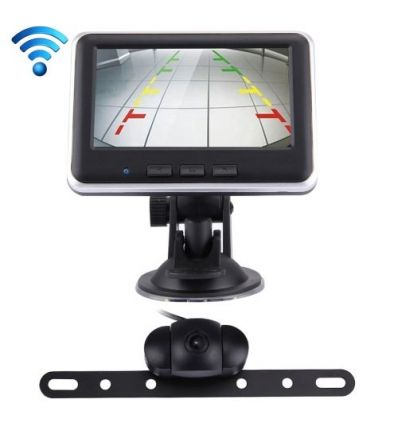 "Wireless 4.3"" TFT Car Rearview Camera Kit DIY & Auto"