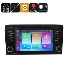 2 DIN Car DVD Play For Audi A3
