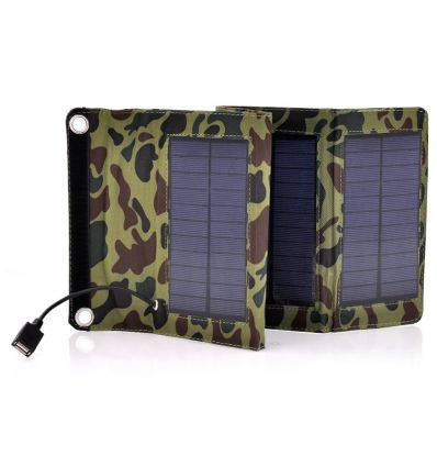 Army Style Camouflage Folding Solar Panel IM-ADG-S84 Sports &