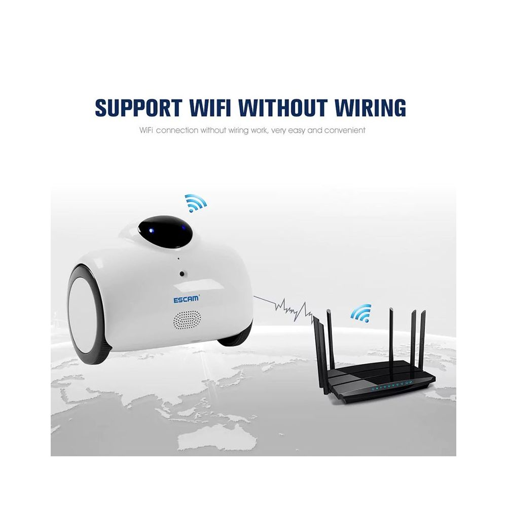 Buy Escam Qn02 Wifi Robot Camera Online South Africa Track Lighting Without Wiring Im Aia I598 Cameras Photography